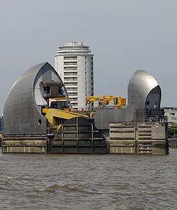 Thames Tidal Barrier Pier 5 E side