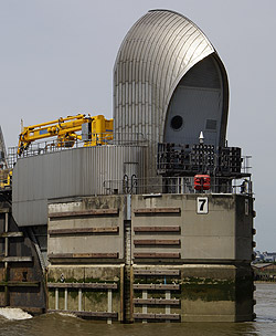 Thames Tidal Barrier Pier 7 E side