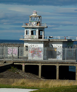 West Breakwater lighthouse