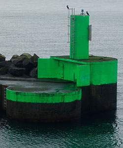 Rønne Havn S Jetty Head