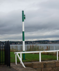 Tayport Harbour Starboard hand entrance